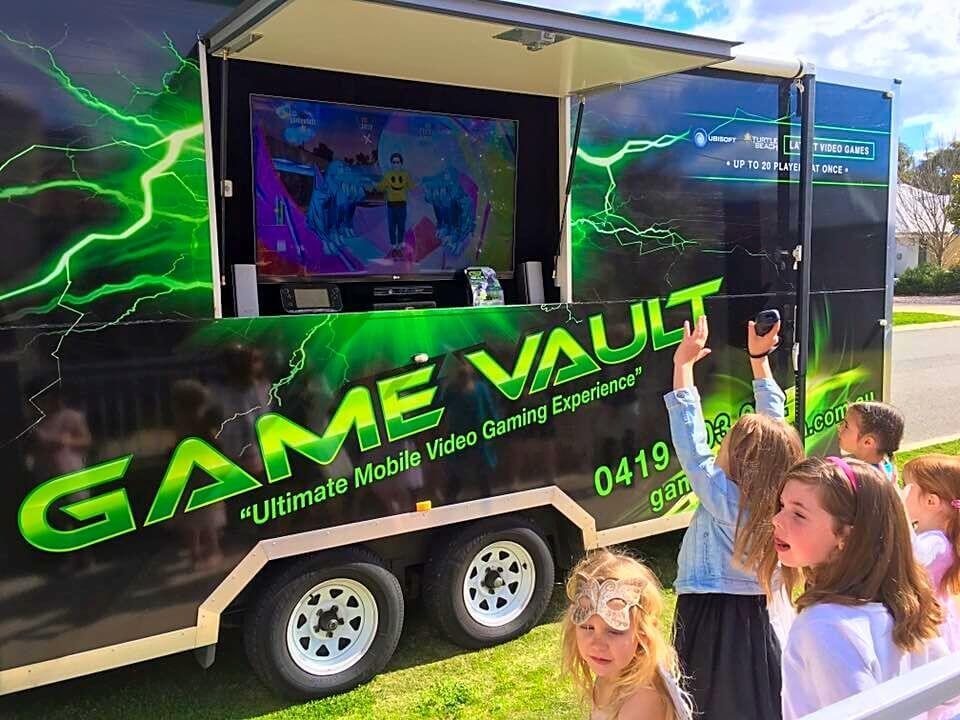 Game Vault party