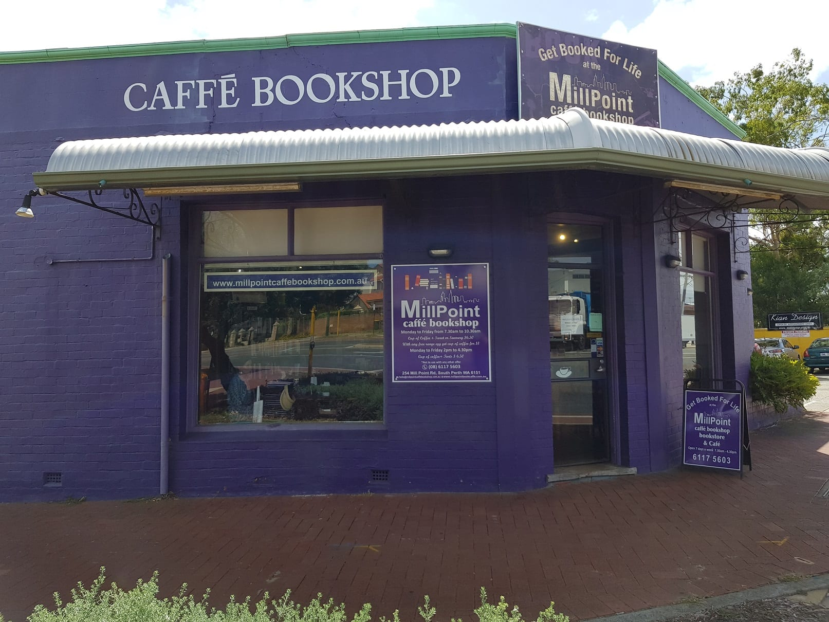 Millpoint Caffe Bookshop, South Perth