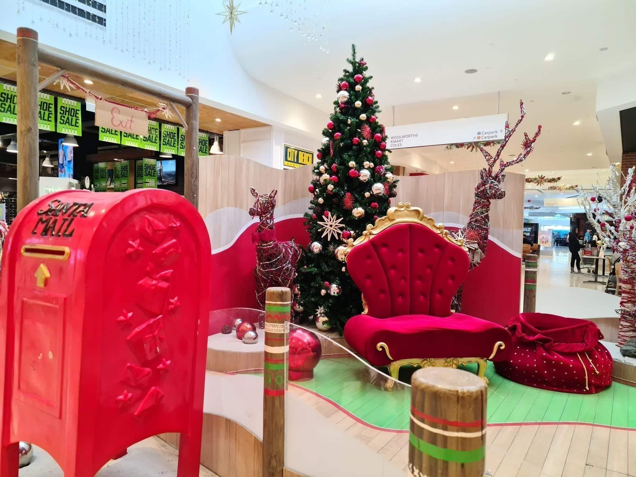 Santa Photos Ocean Keys Shopping Centre