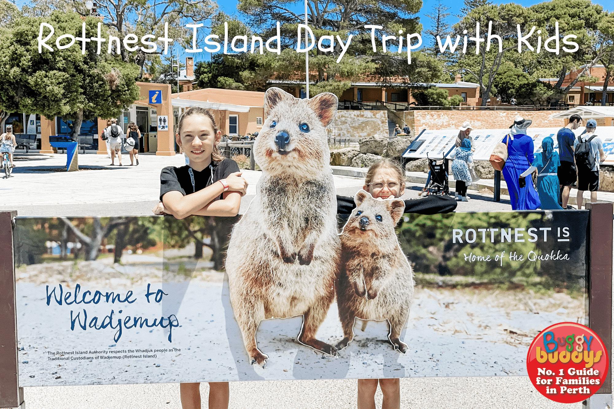 ROTTNEST ISLAND DAY TRIP WITH KIDS